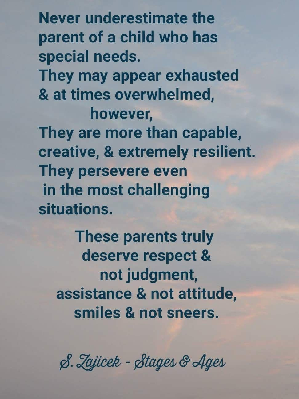As More Parents Of Special Needs >> Corrected Copy Parents Of Special Needs Children Are Often