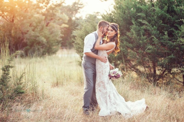 Rustic Glam Wedding Dress Fit And Flare Lace By Stella York Jennifer Weems Photography