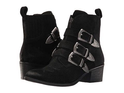 Dolce Vita Scott   Boots, Black suede