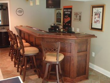Home Bar Plans - Easy Designs to Build your own Bar - Classic Back ...