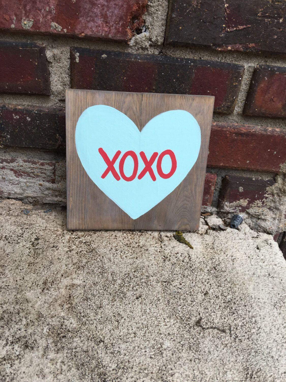 Valentine S Day Decor Conversation Heart Signs Valentine S Day