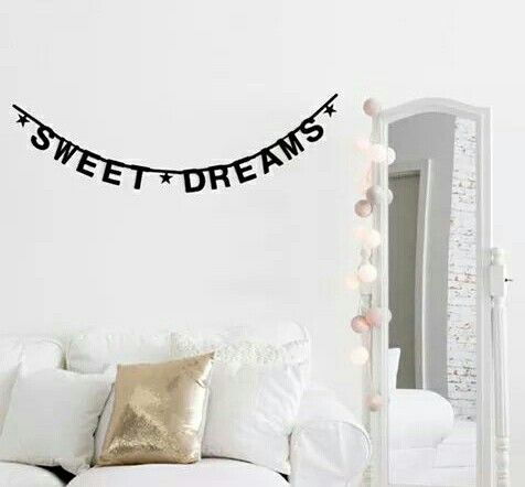 Sweet dreams decoration