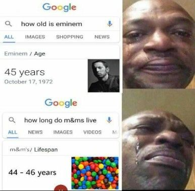 20 Smartest Memes Of This Decade Really Funny Memes How Old Is Eminem Stupid Funny Memes