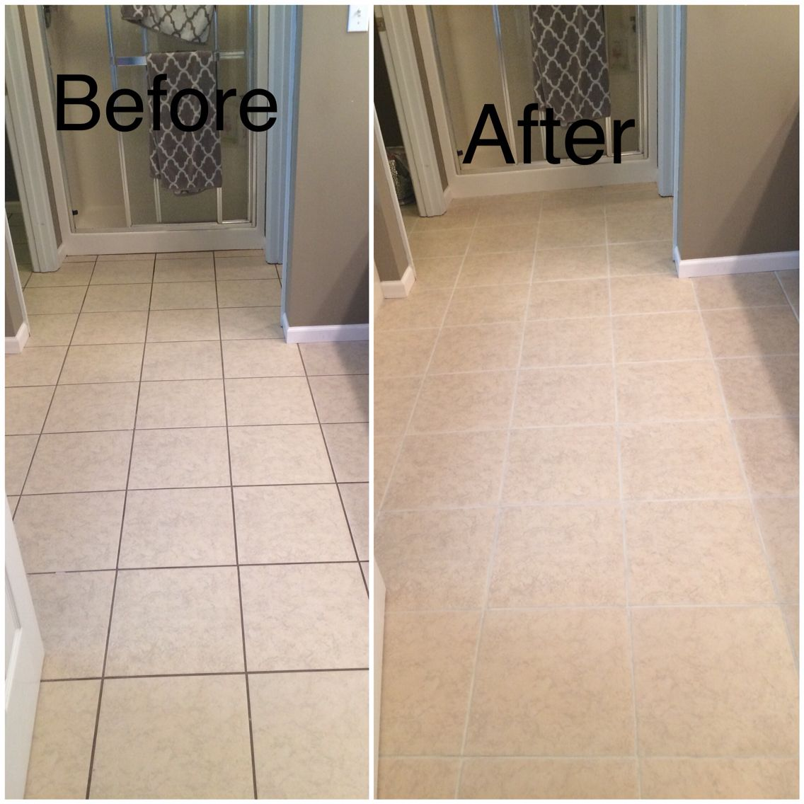 Pin By Niki Foster On House Tile Floor Diy Grout Renew