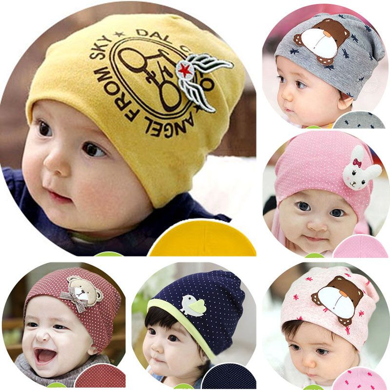 Click to Buy    Newborn Spring Baby Hat For Girls Boys Kids Toddler Infant  Knitted Hats children s caps baby beanie Photography Accessories  Affiliate 3a641ee87a43