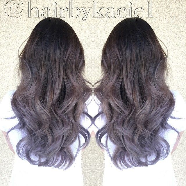 Lavender grey ombré | Hair: Will it ever do anything ...
