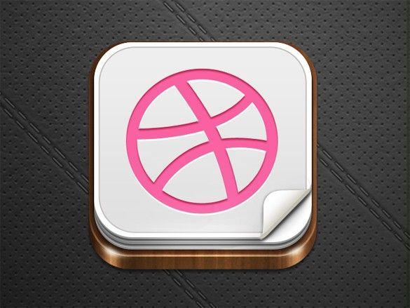 Xoo Plate Finely Crafted 3d Ios Icon Template Psd Rounded