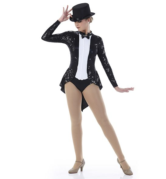 Black Tailcoat Adult Mens Costume Magician Broadway Jacket Tails Tuxedo Circus