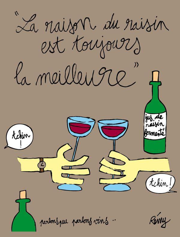 Remy - Wine illustration
