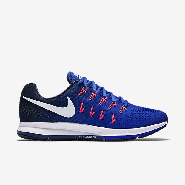 Nike Air Zoom Pegasus 33 Mens Running Shoes 115 Racer Blue Navy 831352 401