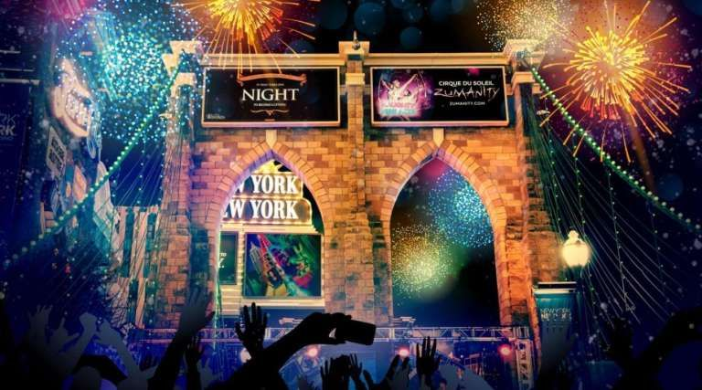 America's Party Las Vegas Countdown to New Year's Eve
