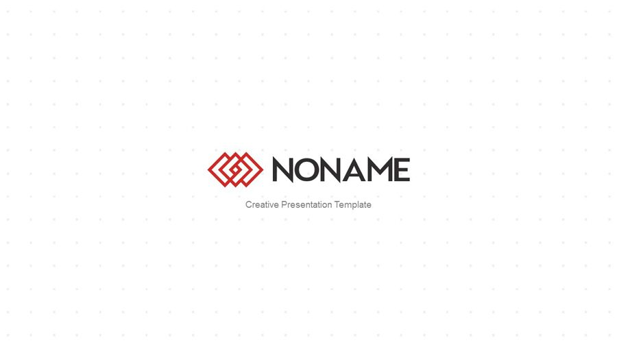NONAME  Creative Presentation Template