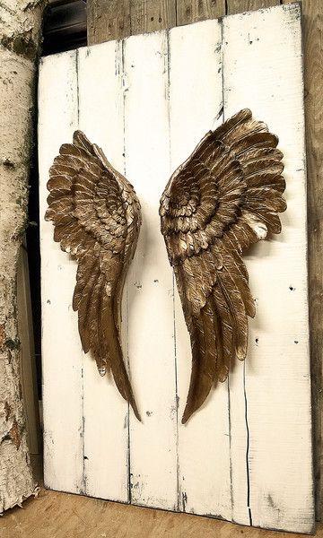 Wanddeko Engelsflugel Wandbild Dekoration Engel Flugel Ein