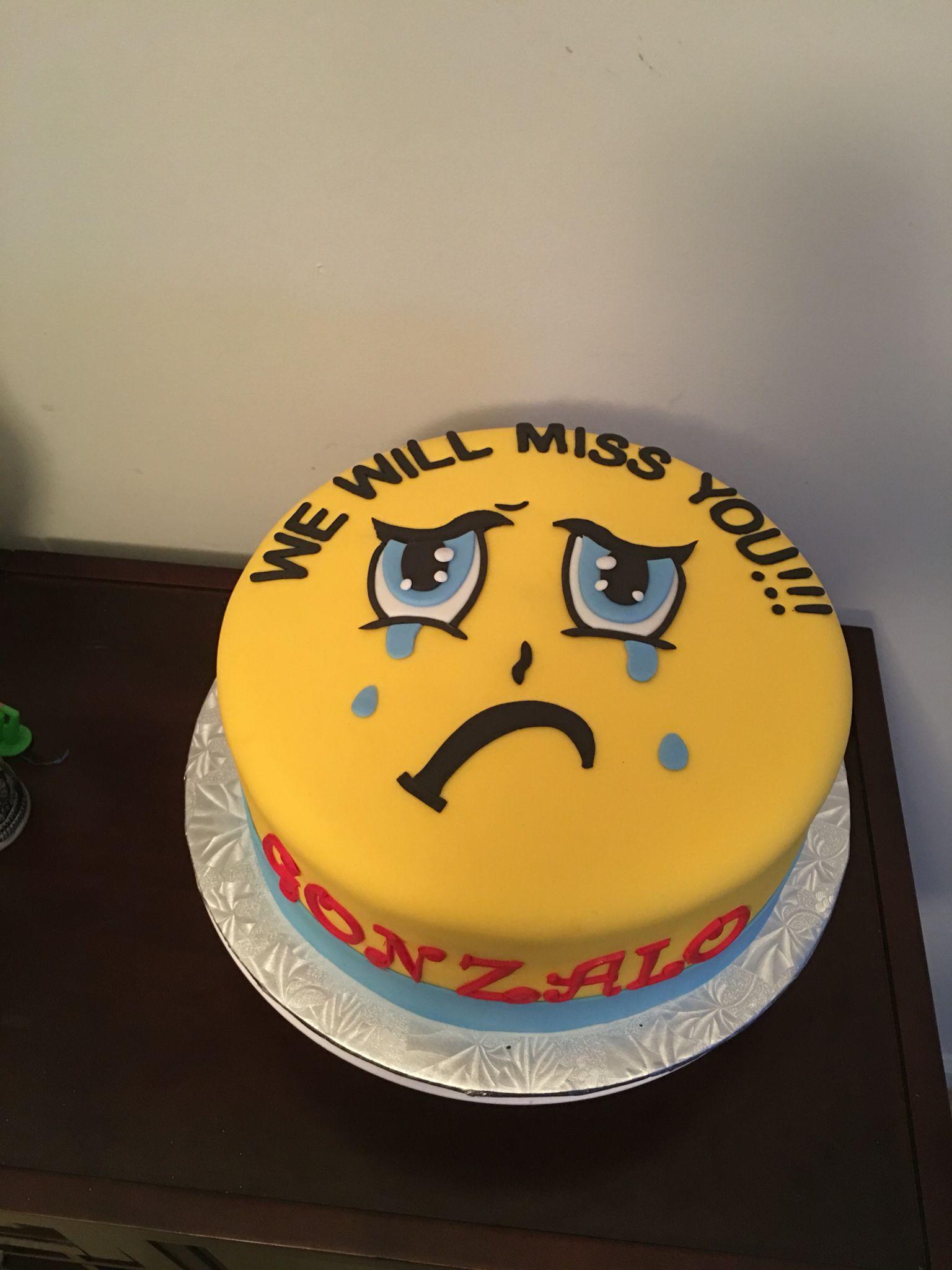 Going Away Party Cake Farewell Cake Going Away Cakes Goodbye Cake