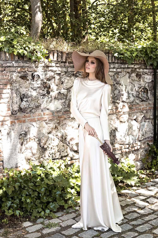 Basaldua. Vestido de novia con pantalón