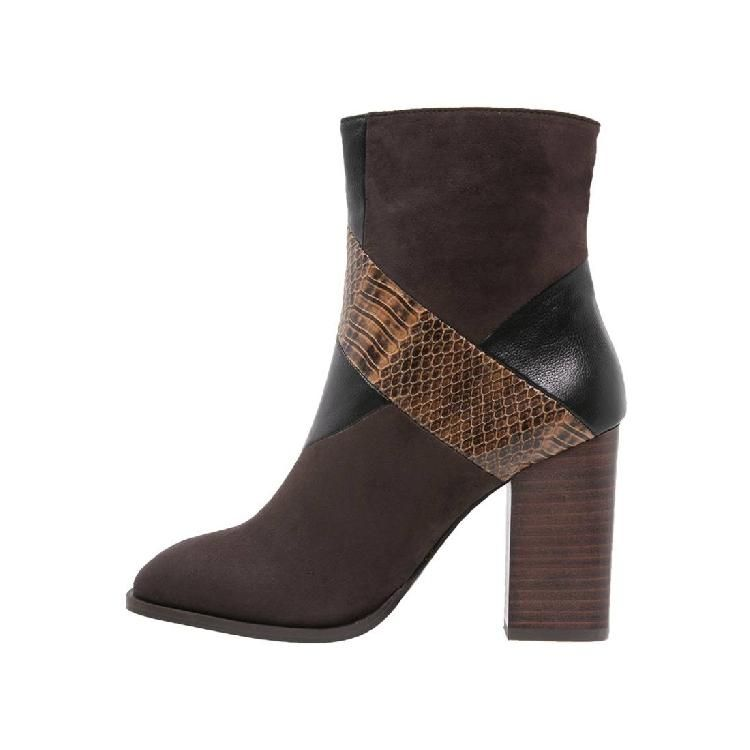 High Heel Stiefelette - brown by Dorothy Perkins