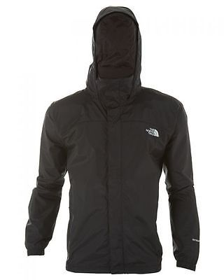 ee925158fff4 North Face Resolve Jacket Mens AR9T-JK3 Tnf Black Waterproof Outdoor Size L