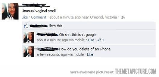 Facebook oops pictures