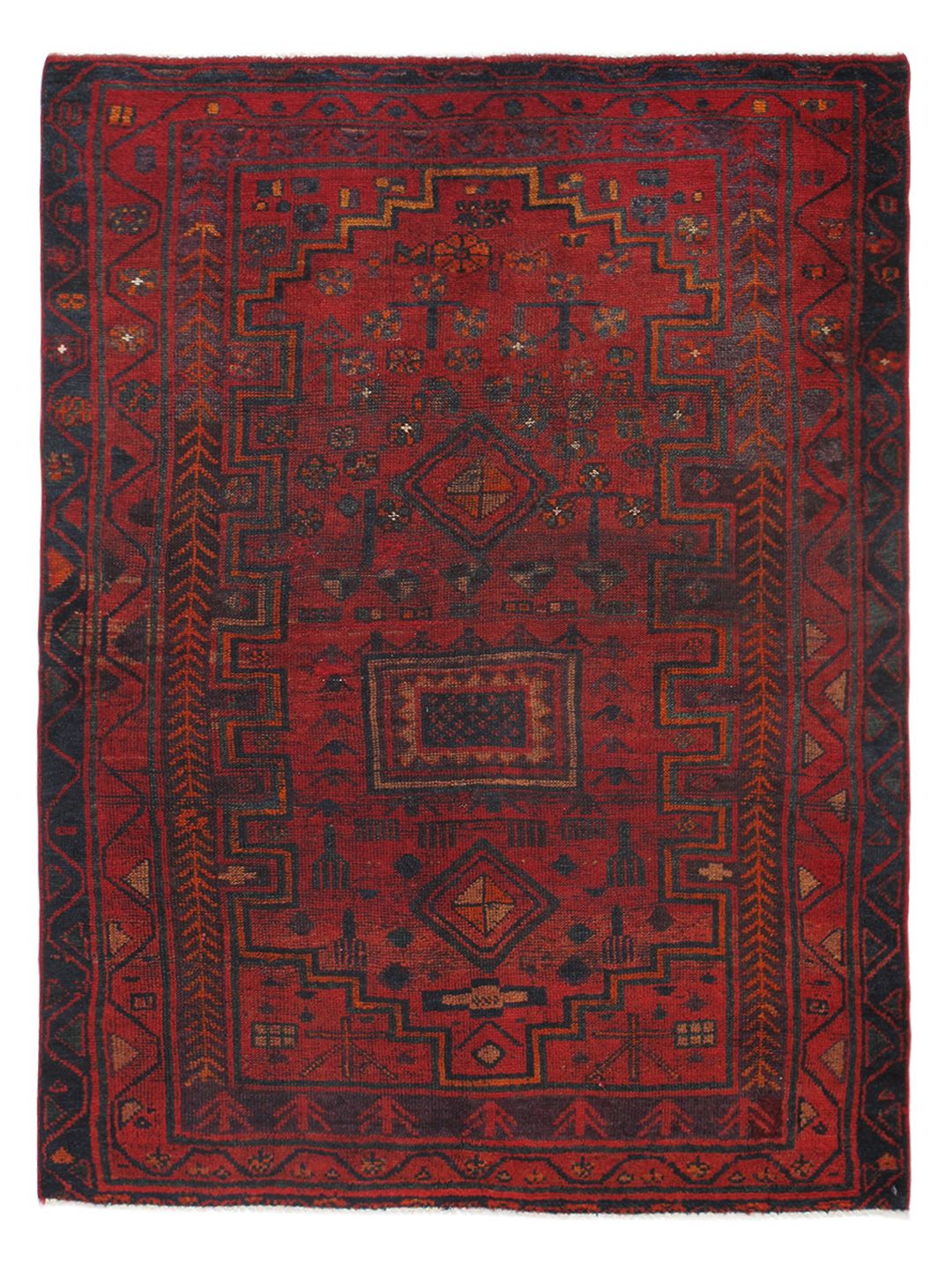 """Persian Hand-Knotted Rug (5'2""""x6'8"""") by Momeni at Gilt"""