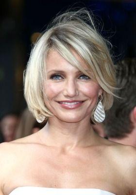 The Bed Head Bob 15 Hottest Celebrity Hair Trends Medium Hair Styles For Women Cameron Diaz Hair Medium Hair Styles