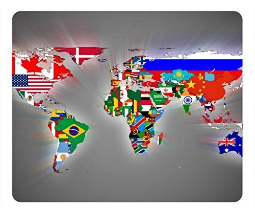 Zenzzle computer accessories rectangle mouse pad world map of zenzzle computer accessories rectangle mouse pad world map of flags zenzzle http gumiabroncs Image collections