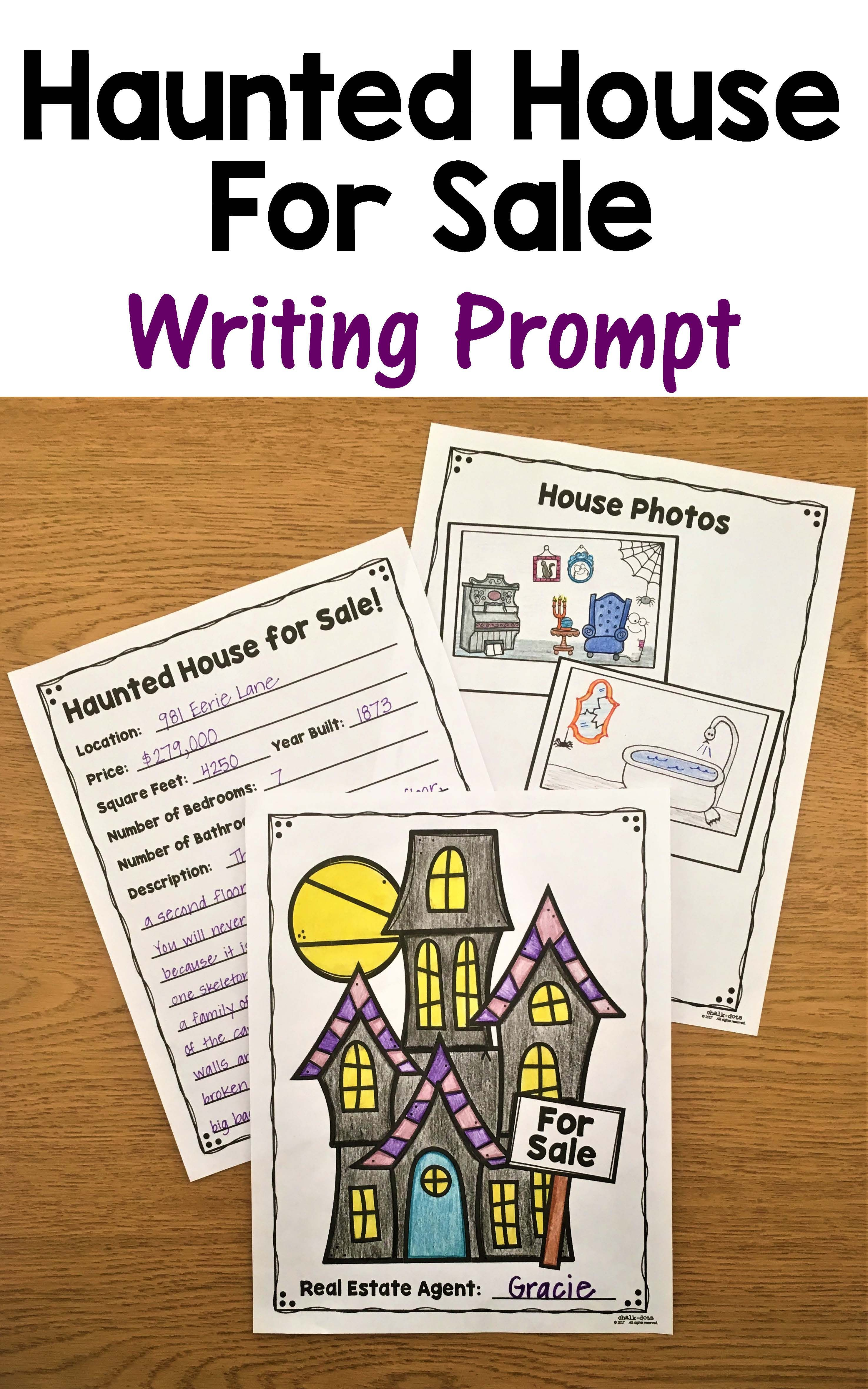 Haunted House Writing Prompts