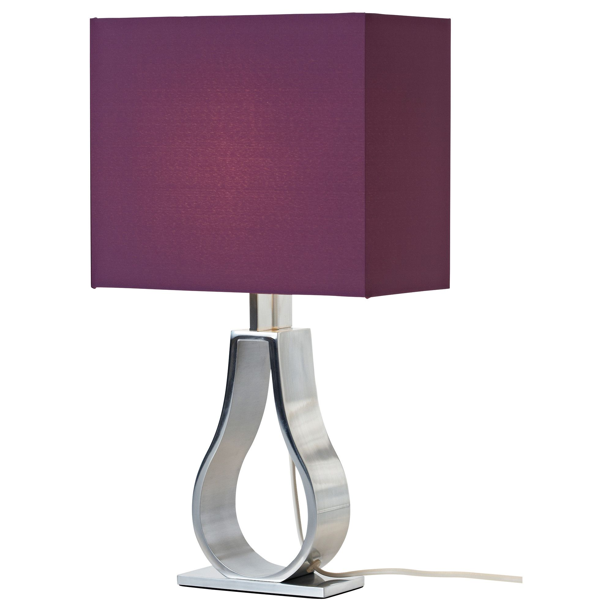 Us Furniture And Home Furnishings Table Lamp Purple