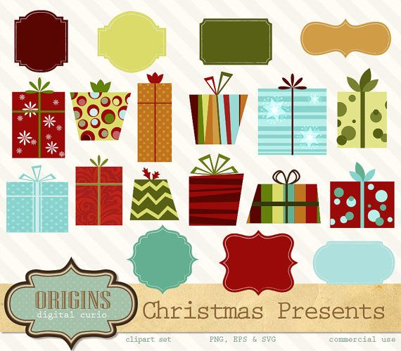 Christmas gift boxes clipart christmas presents clipart gift christmas gift boxes clipart christmas presents clipart gift box vectors png instant download commercial use negle Choice Image