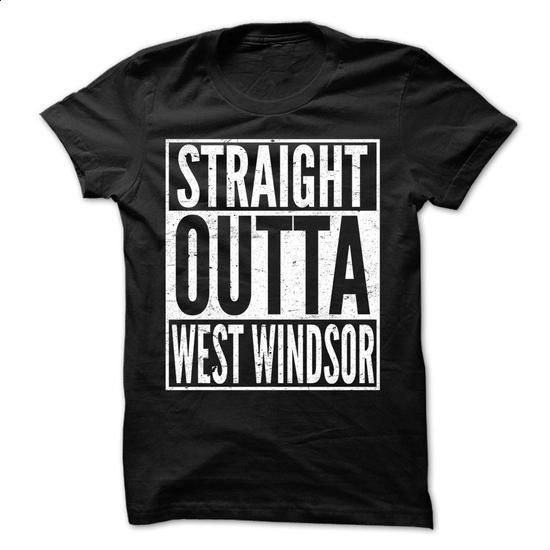 Straight Outta WEST WINDSOR - Awesome Team Shirt ! - #mens tee #tee skirt. PURCHASE NOW => https://www.sunfrog.com/LifeStyle/Straight-Outta-WEST-WINDSOR--Awesome-Team-Shirt-.html?68278