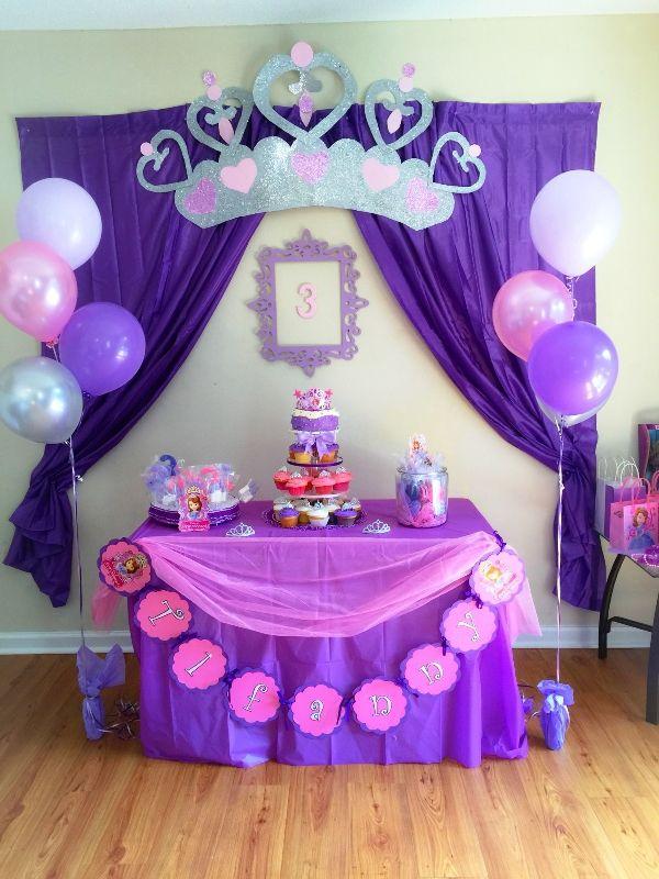 Ideas para fiesta de cumplea os de princesa sofia ideas - Fiestas de cumpleanos de princesas ...