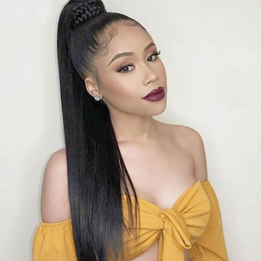 150 density straight wedding hair 360 lace frontal human