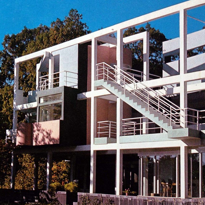 Snyderman House By Michael Graves 1972 Architecture
