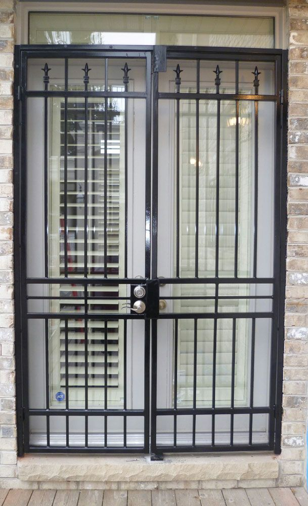 Security Gates Sliding Patio Doors In Homes Are A Great Way To Let