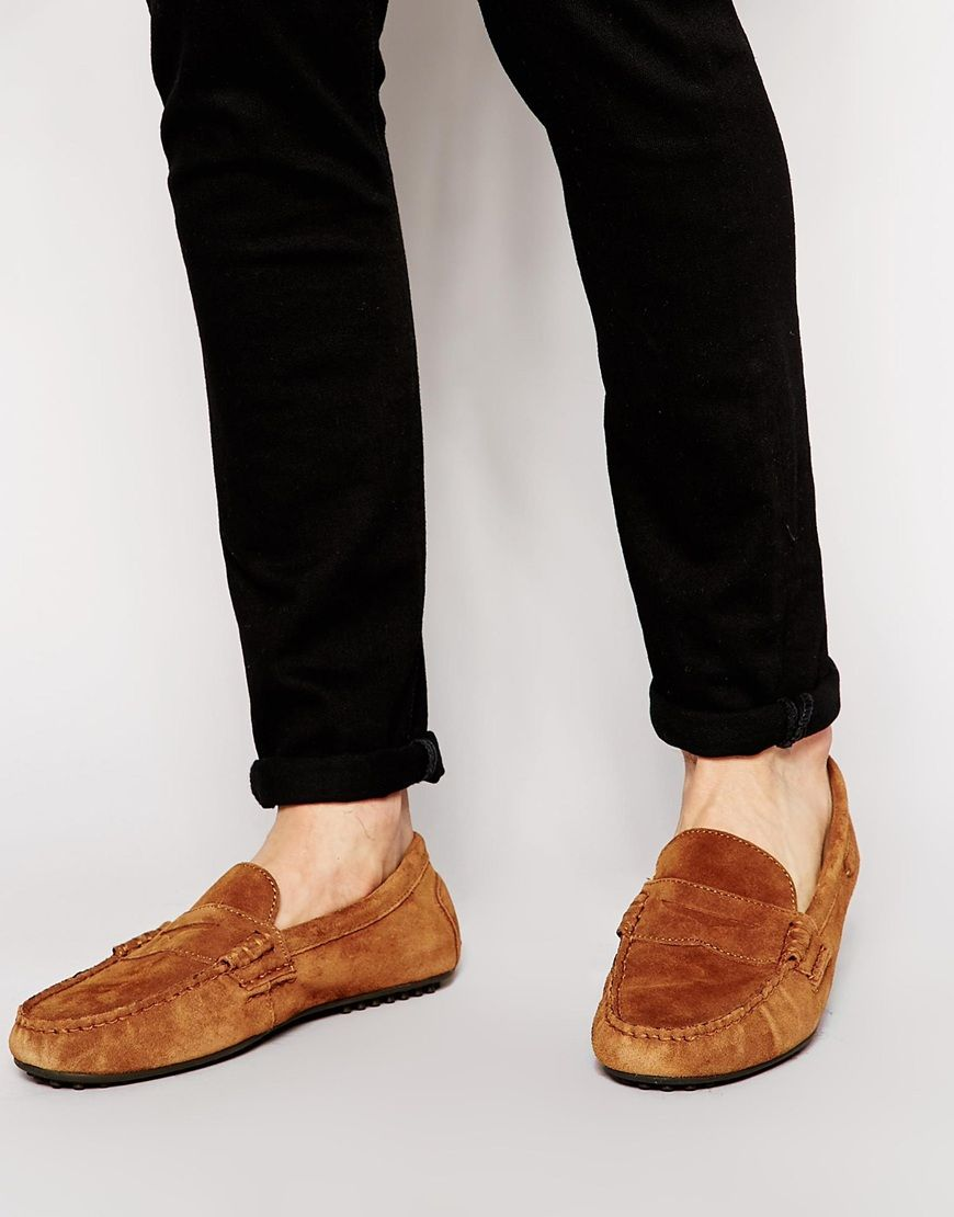 f82bb8b55ef Polo Ralph Lauren Wes Suede Loafers - £125