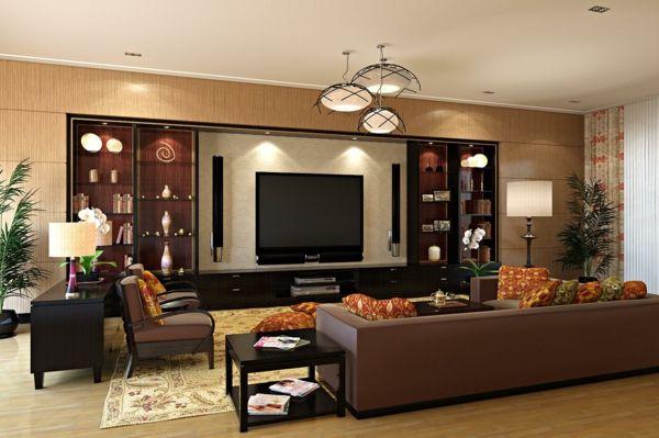 Asiatische Deko Einrichtungsideen Wohnzimmer Mbel