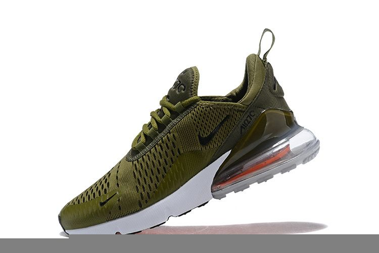 0e08cd9d7dde 2018 How To Buy Nike Air Max 270 Flyknit Navy Green Vert 2018 Casual Running  Shoes AH8050 201