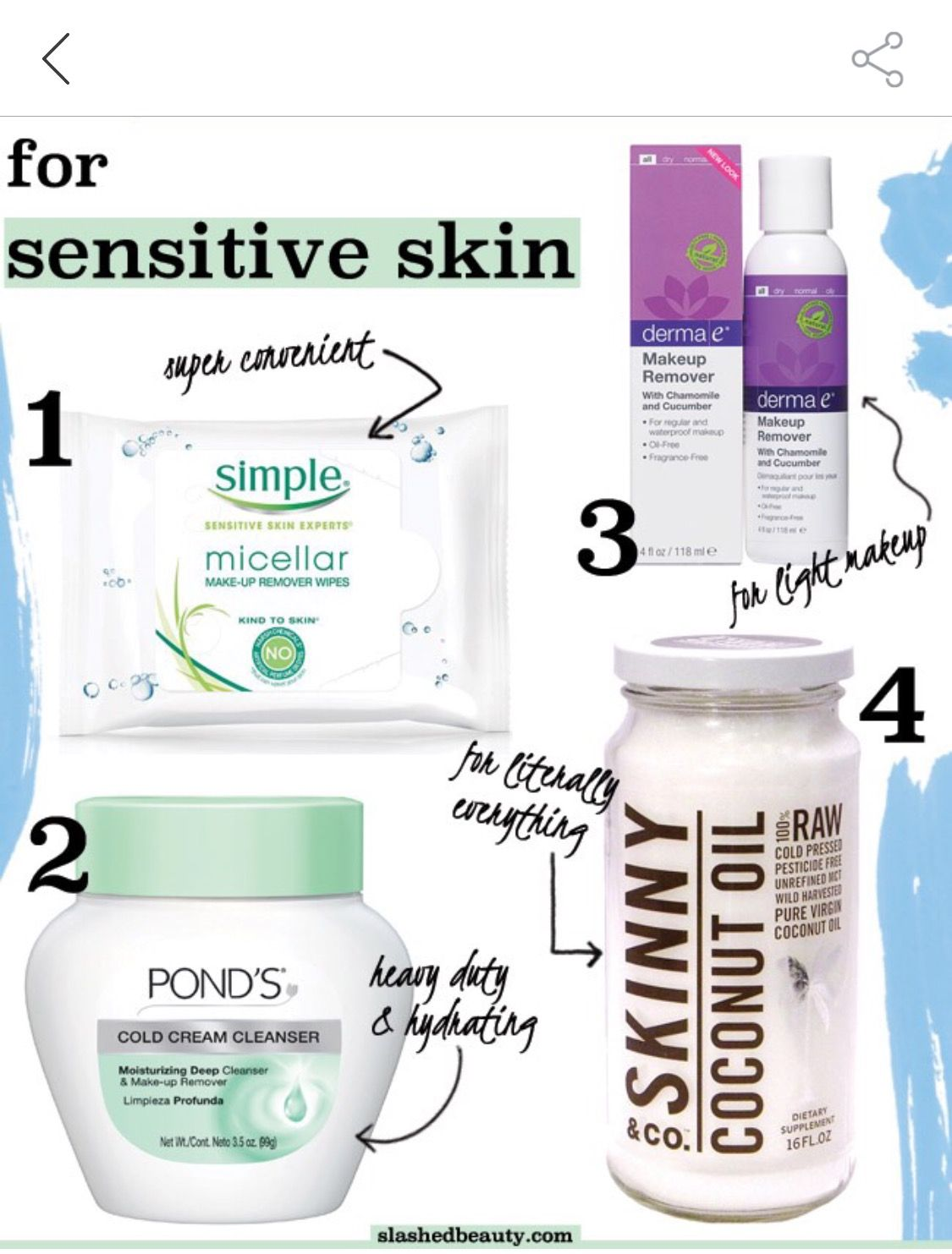 Pin by patra frank on 23 Best makeup remover, Sensitive