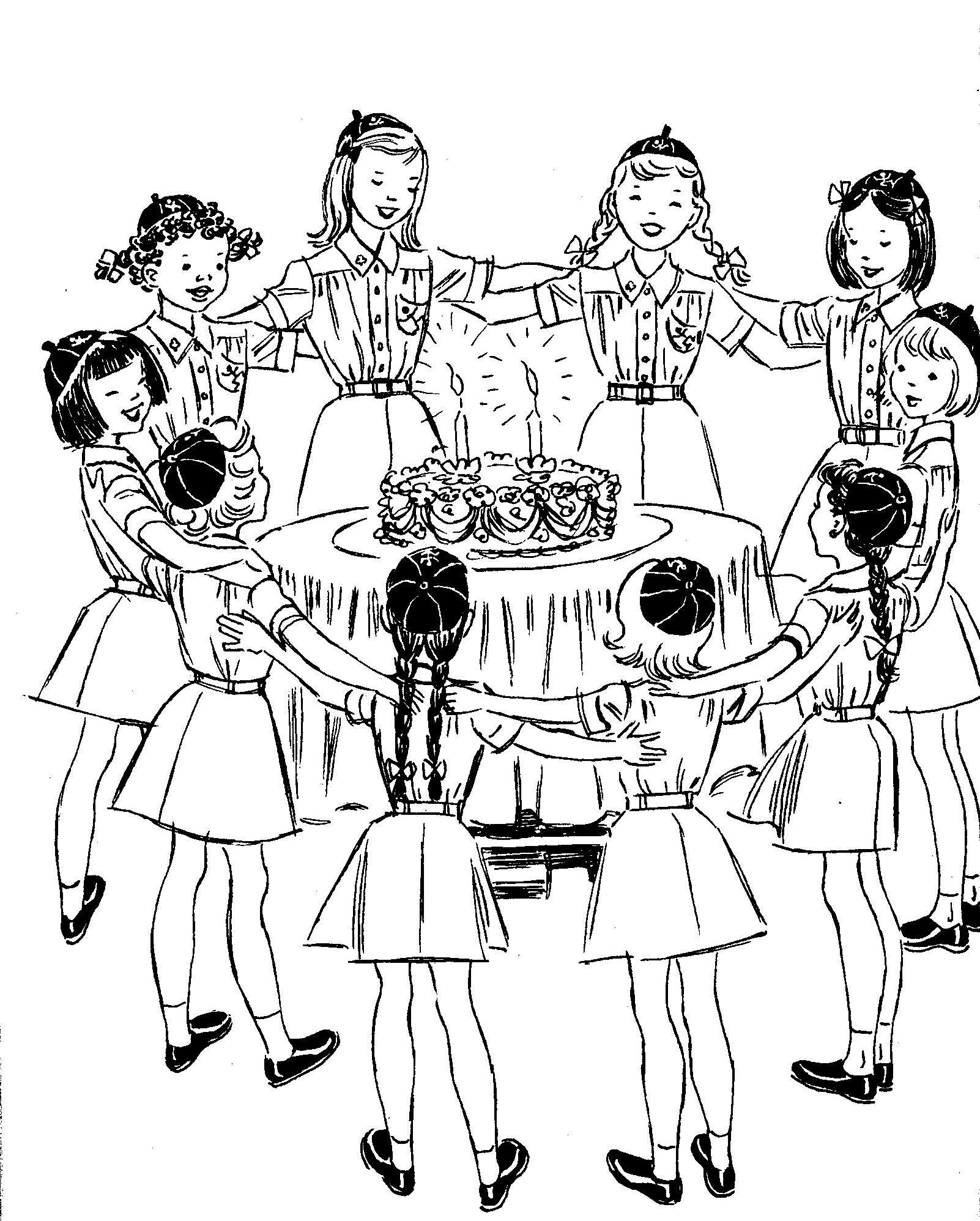 OCTOBER VINTAGE  GIRL SCOUT 1962 GIRL SCOUT LEADER