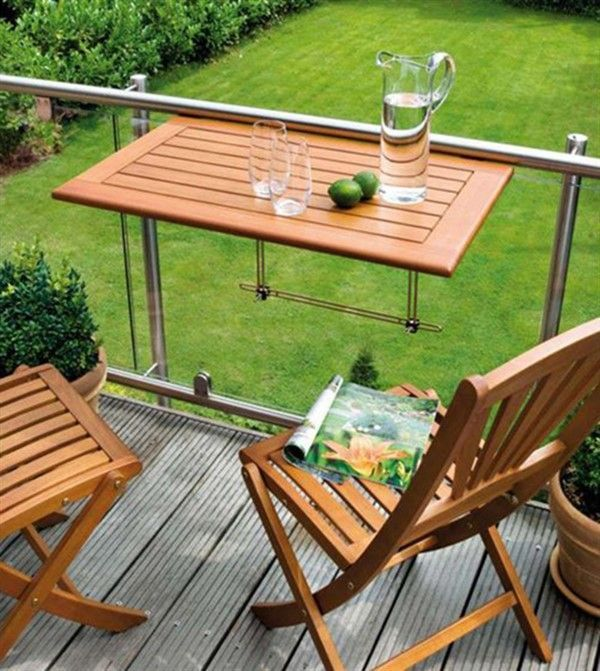 Photo of Useful Tables for Small Balcony – Balcony Decoration Ideas in Every Unique Detai…