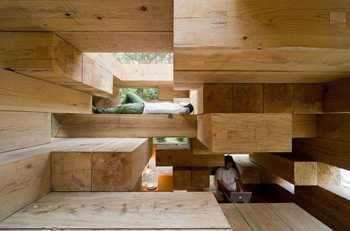 Final Wooden House By Sou Fujimoto Architects Kumamoto