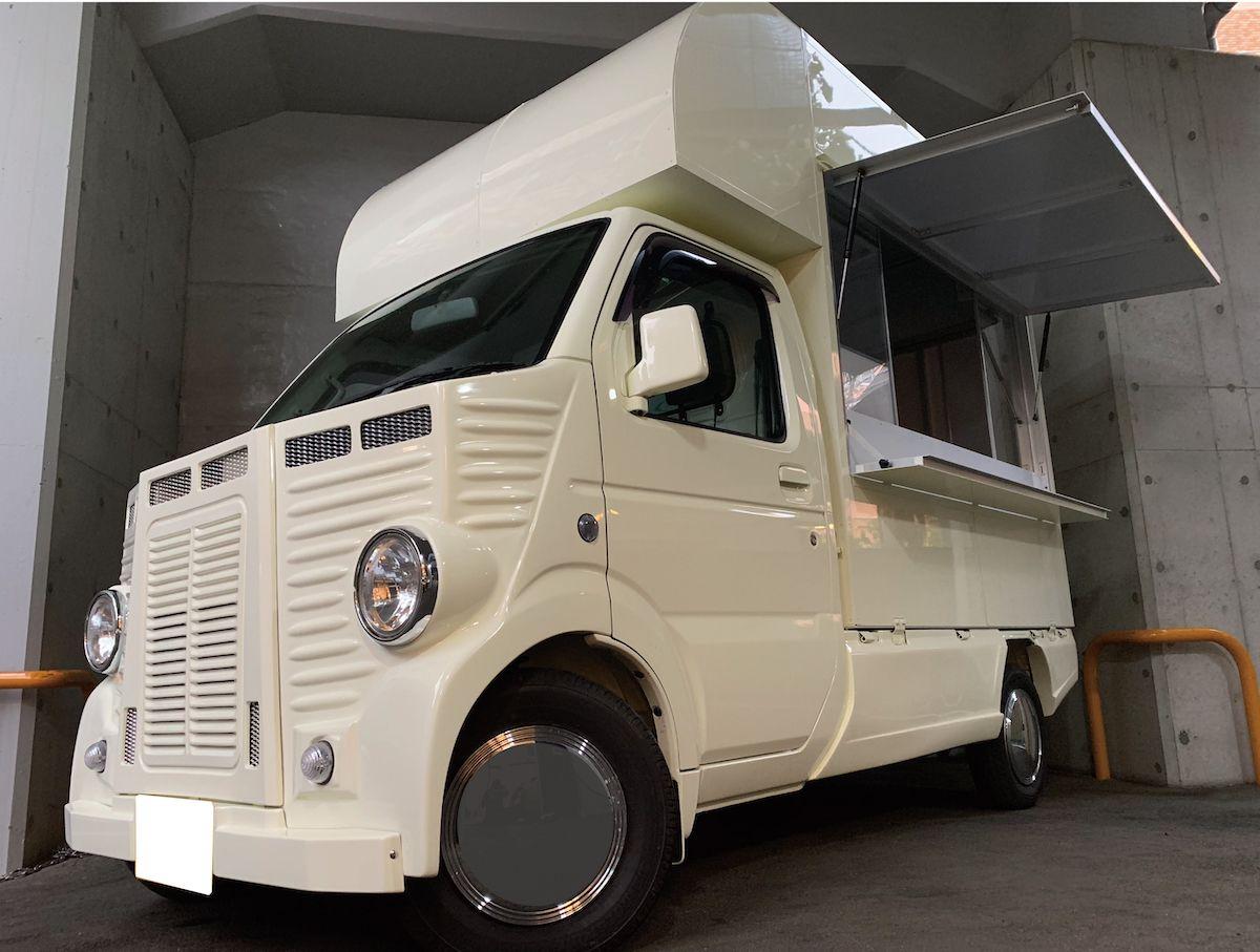 キッチンボックス350 一番人気の定番の軽キッチンカー 移動販売車
