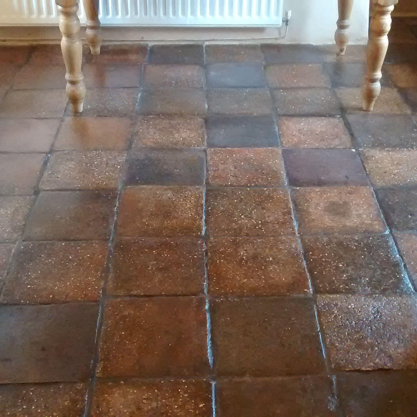 Inspirational quarry tiles kitchen taste restored belfast quarry tiled kitchen floor the patio dailygadgetfo Images