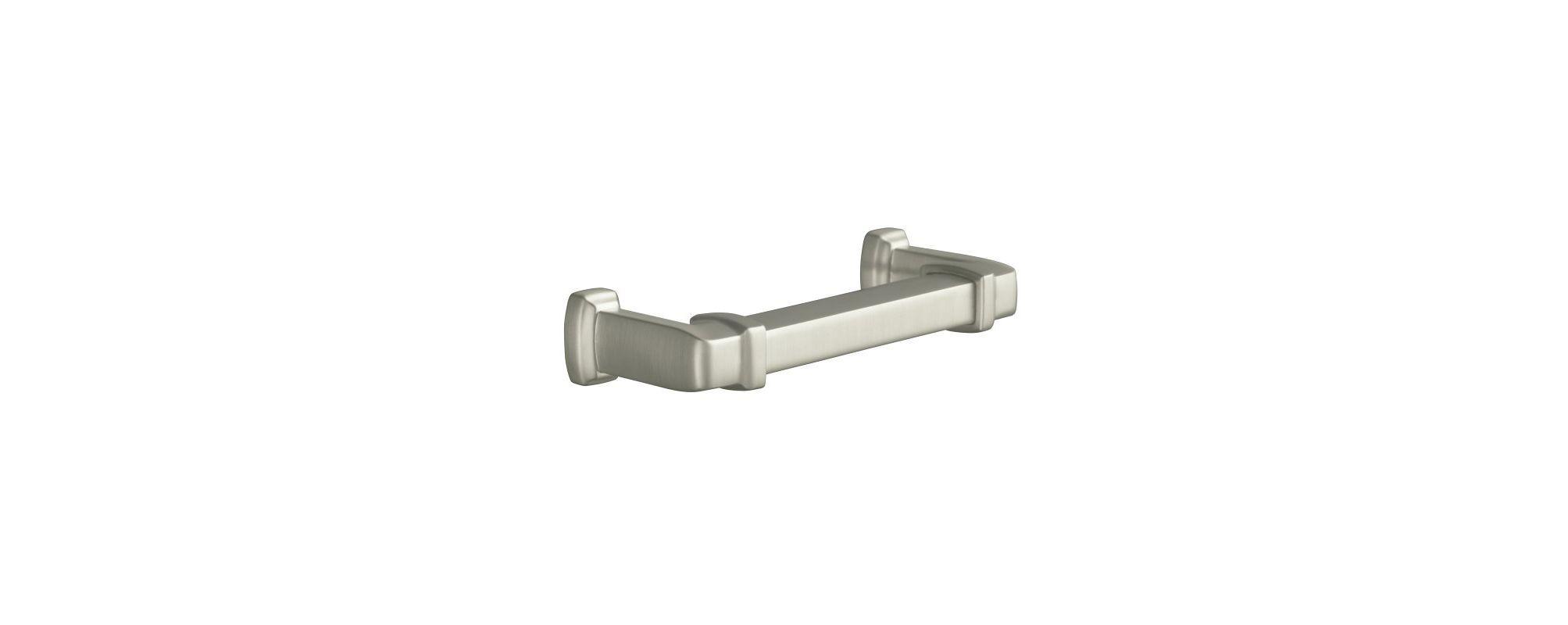 Kohler K-11426 Bancroft Drawer Pull Brushed Nickel Accessory Cabinet Hardware Pull