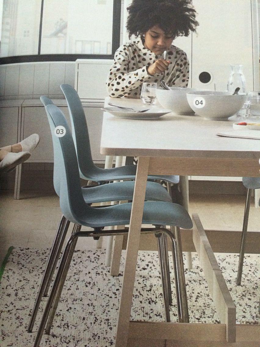 EKENÄS Armchair - Hensta dark brown | Ikea armchair, Black ...