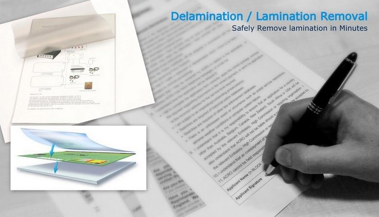 De Lamination Or Lamination Removal Office Stationery Stationery Of Brand