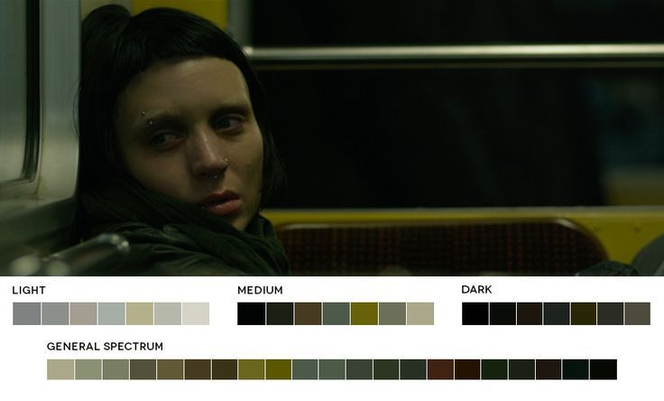 cinematography cool color palette - Google Search