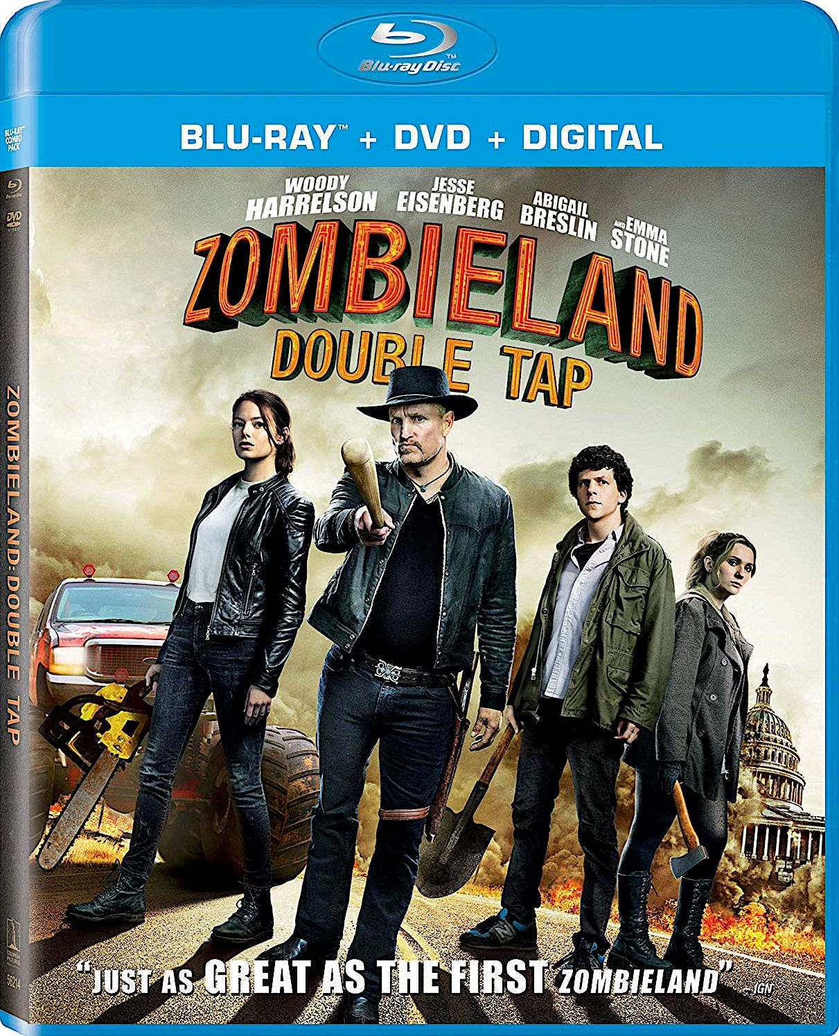 Zombieland Double Tap Blu Ray Sony Pictures Zombieland Double Tap Blu Ray