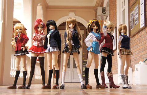 anime dolls - Buscar con Google
