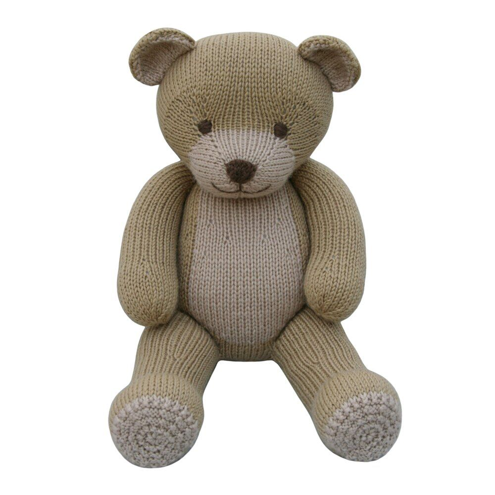 Bear (Knit a Teddy) Knitting pattern by Knitables #knittedtoys