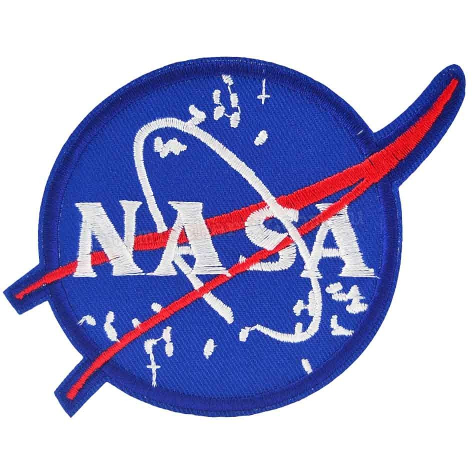 NASA Logo Iron On Patch (With images) Patches, Sew on